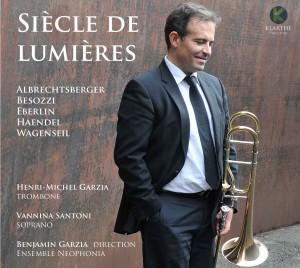 siecle des lumieres par Henri michel GARZIA au trombone compte rendu critique cd par classiquenews kla050couv_low