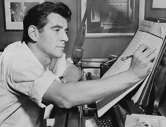 bernstein leonard dossier classiquenews 582 compositeur chef centenaire bernstein leonard 2018 sur dossier classiquenews 1280px-Leonard_Bernstein_NYWTS_1955