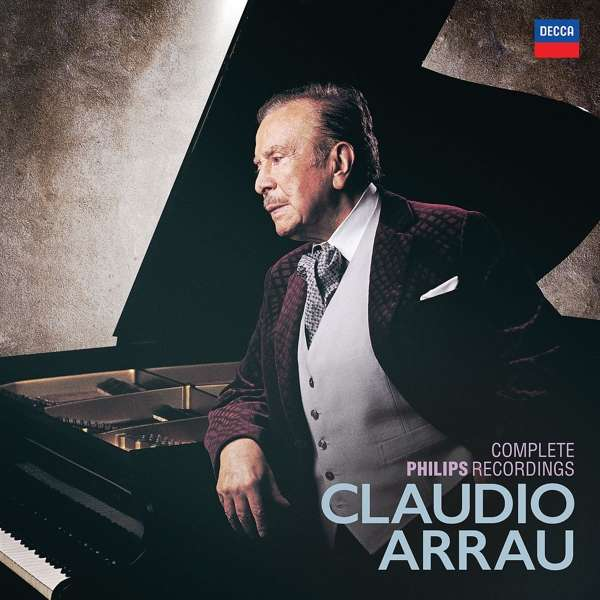 ARRAU claudio complete philips recordings 1928 1952 1991 presentation review cd critique cd par classiquenews decca4832984