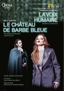 DVD barbara hannigan voix humaine critique par classiquenews le-chateau-de-barbe-bleue-la-voix-humaine