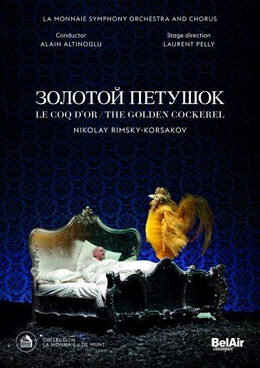 RIMSKY le coq dor la monnaie laurent pelly dvd critique par classiquenews bac147-golden-cockerel-recto-dvd-e1518443215235