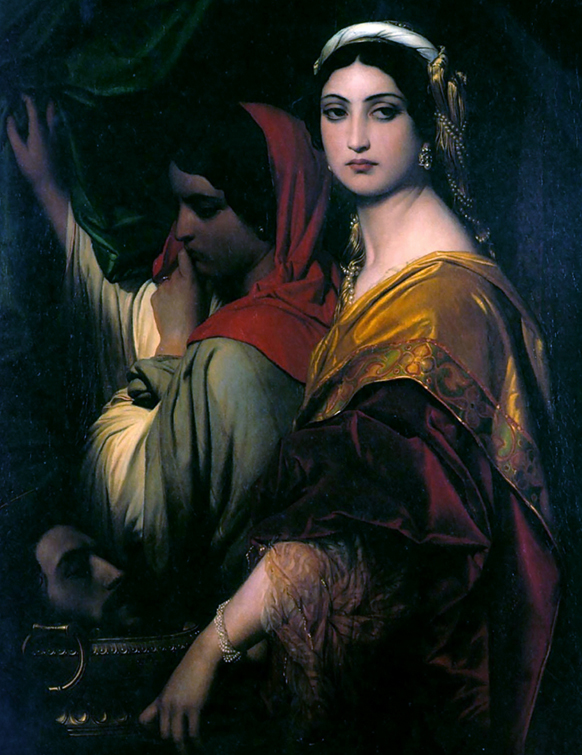 hrodias-paul-delaroche-la-nonne-sanglante-de-gounod-1854-opera-presentation-par-classiquenews-opera-comique-synopsis-la-nonne-sanglante