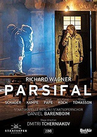 PARSIFAL tcherniakov kampe schater pape barenboim critique dvd par classiquenews