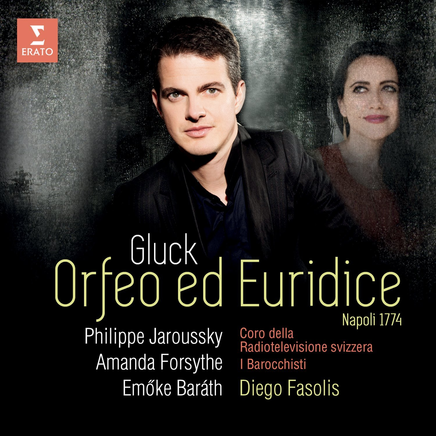 GLUCK ORFEO napoli 1774 fasolis jaroussky forsythe cd erato cd review critique cd par classiquenews