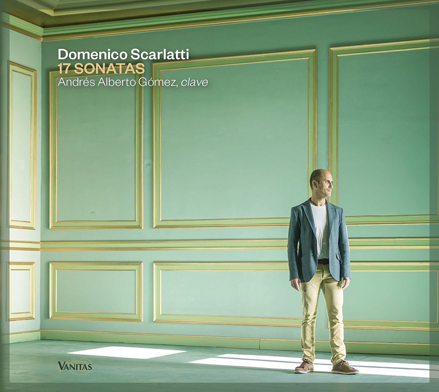SCARLATTI sonatas 17 andres alberto gomez clavecin cd review critique cd par classiquenews cd annonce