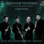 creation quatuor de vendome clarinette cd review critique cd par classiquenews kla046couv_low