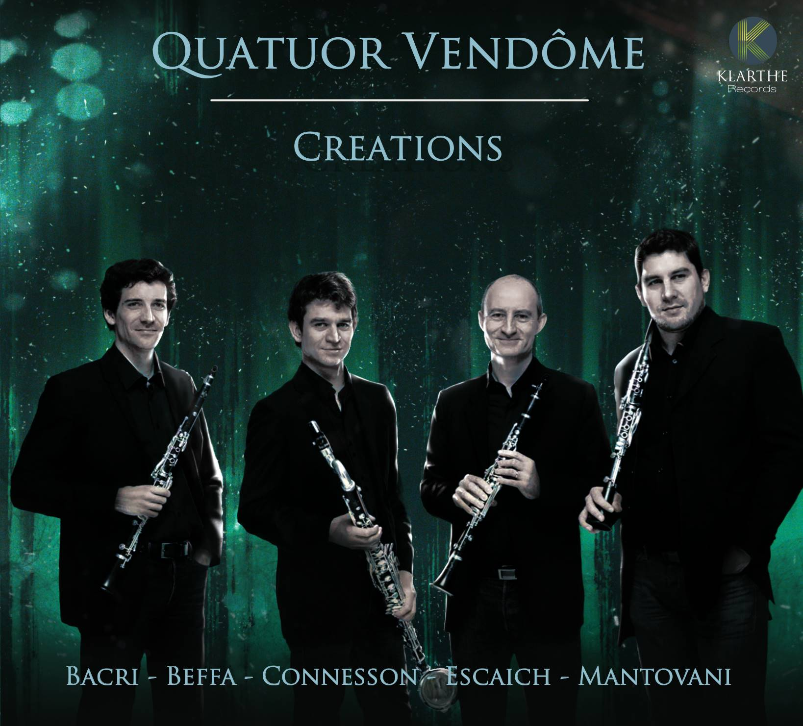 creation quatuor de vendome clarinette cd review critique cd par classiquenews kla046couv_low