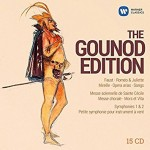 the gounod edition set box 15 cd WARNER, critique cd, cd review presentation annonce CLASSIQUENEWS