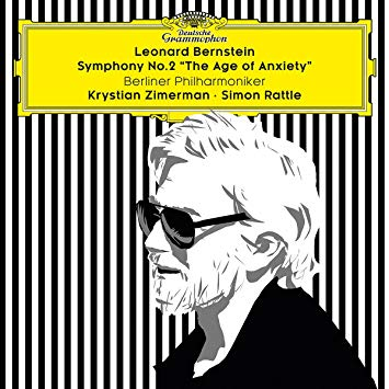 Bernstein rattle zimerman symphony the age of anxiety berliner philahrmoniker cd review critique classiquenews 71Qf2D+Sf9L._SY355_