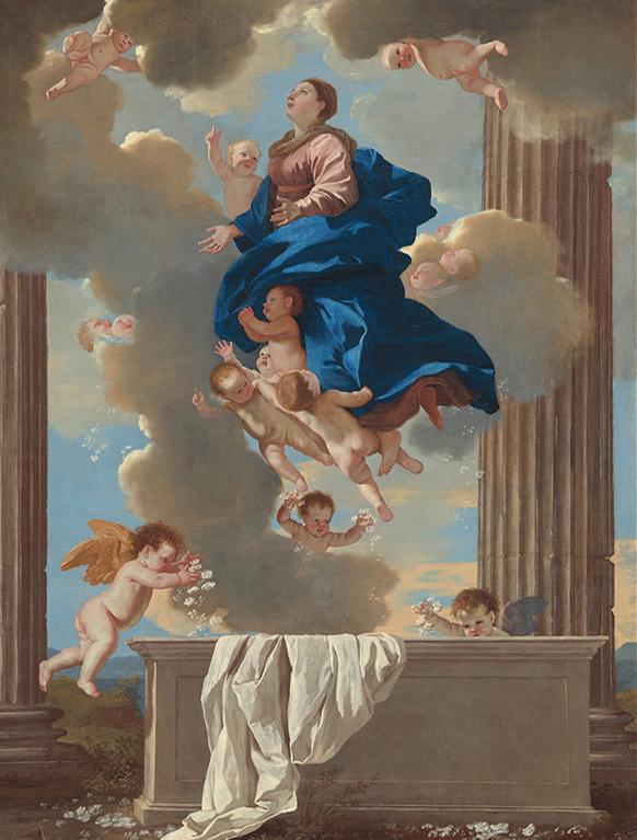 MARIE-assomption-nicolas-Poussin-par-classiquenews-concerts-festivals-assomption-salve-regina-magnificat-marie-apotheose-