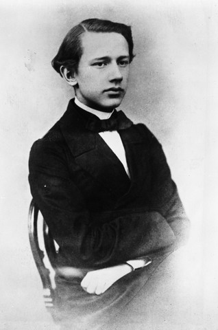 Peter Tschaikovsky As A Student At Conse