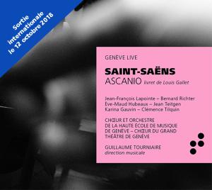 ASCANIO critique cd annonce review par classiquenews St-Saens-ASCANIO-parution