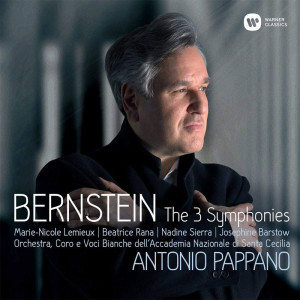 bernstein symphonies antonio pappano cd warner box set par classiquenews critique cd 0190295661571