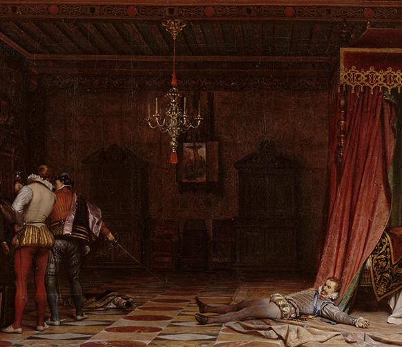 guise-assassinat-paul-delaroche-les-huguenots-meyerbeer-opera-par-classiquenews