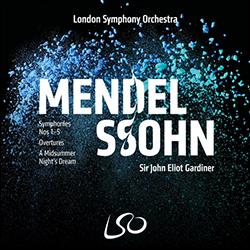 Symphonies et ouvertures de MENDELSSOHN
