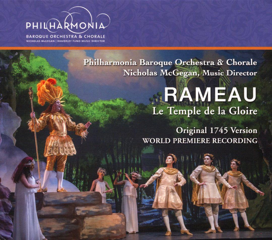 rameau temple de la gloire temple of glory cd review cd critique par classiquenews mcgegan philharmonia baroque orchestra cd MI0004433611