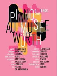 wurth piano au musee wurth festival nov 2018 presentation sur classiquenews