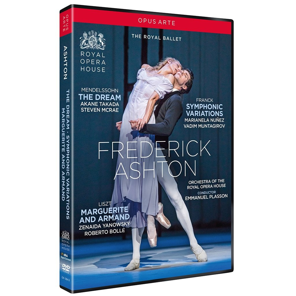 ASHTON Dream symphonic variations amrand marguerite ROYAL BALLET DVD opus ARTE dvd reviex critique dvd danse par classiquenews CLIC de classiquenews nov 2018