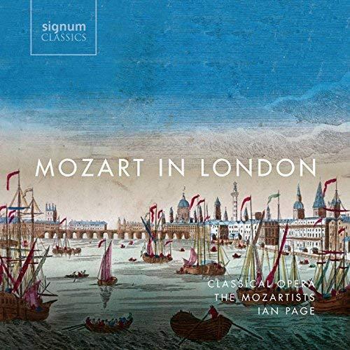 MOZART in london ian page cd review critique cd par classiquenews