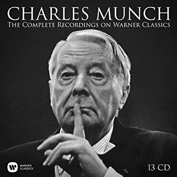 MUNCH charles complete recordings on warner classics 13 cd review cd critique cd par classiquenews xmas gifts 2018