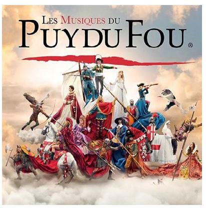 PUY DU FOU cd warner critique cd classiquenews puy du fou vendee dec 2018