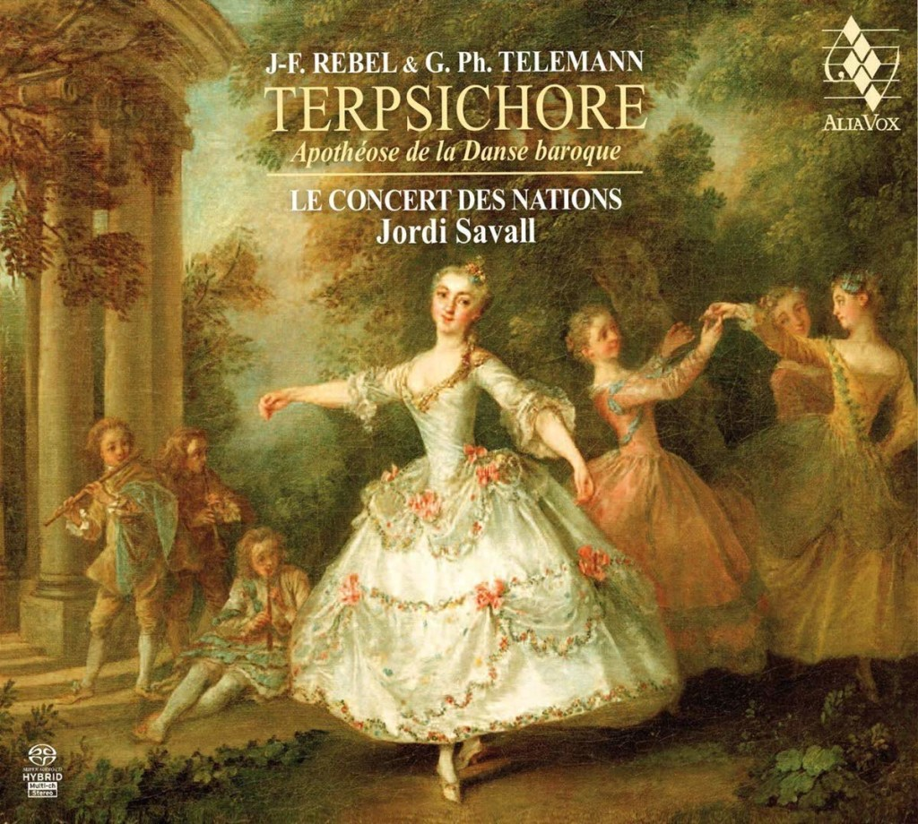 Terpsichore danses louis xv telemann rebel jordi savall cd critique review cd classiquenews
