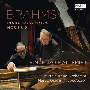 brahms concertos pour piano 1 et 2 marco guidarini vincenzo maltempo piano classics brilliants review cd critique cd par classiquenews novembre 2018