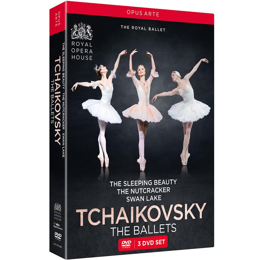 ROYAL BALLET tchaikovsky the ballets 3 dvd set sleeping beauty ntucracker swan lake annonce critique dvd review classiquenews decembre cadeau de NOEL 2018