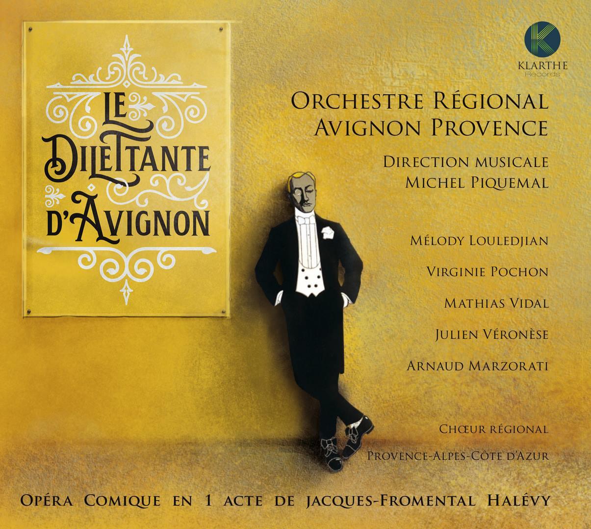 Halevy opera annonce critique opera dilettante d avignon piquemal halevy KLARTHE records  cd opera critique KLA073couv_low