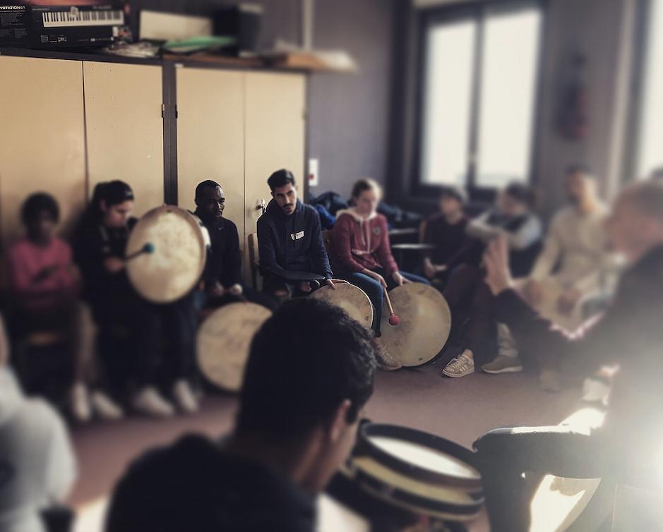 concert hostle dieu atelier pedagogique marco polo action culturelle annonce concert reportage classiquenews