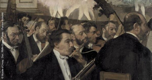 DEGAS orchestre de l opéra palais garnier degas a l opéra