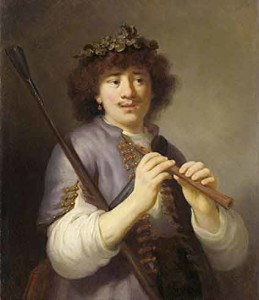 rembrandt-flutiste-chalumeau-berger-rembrandt