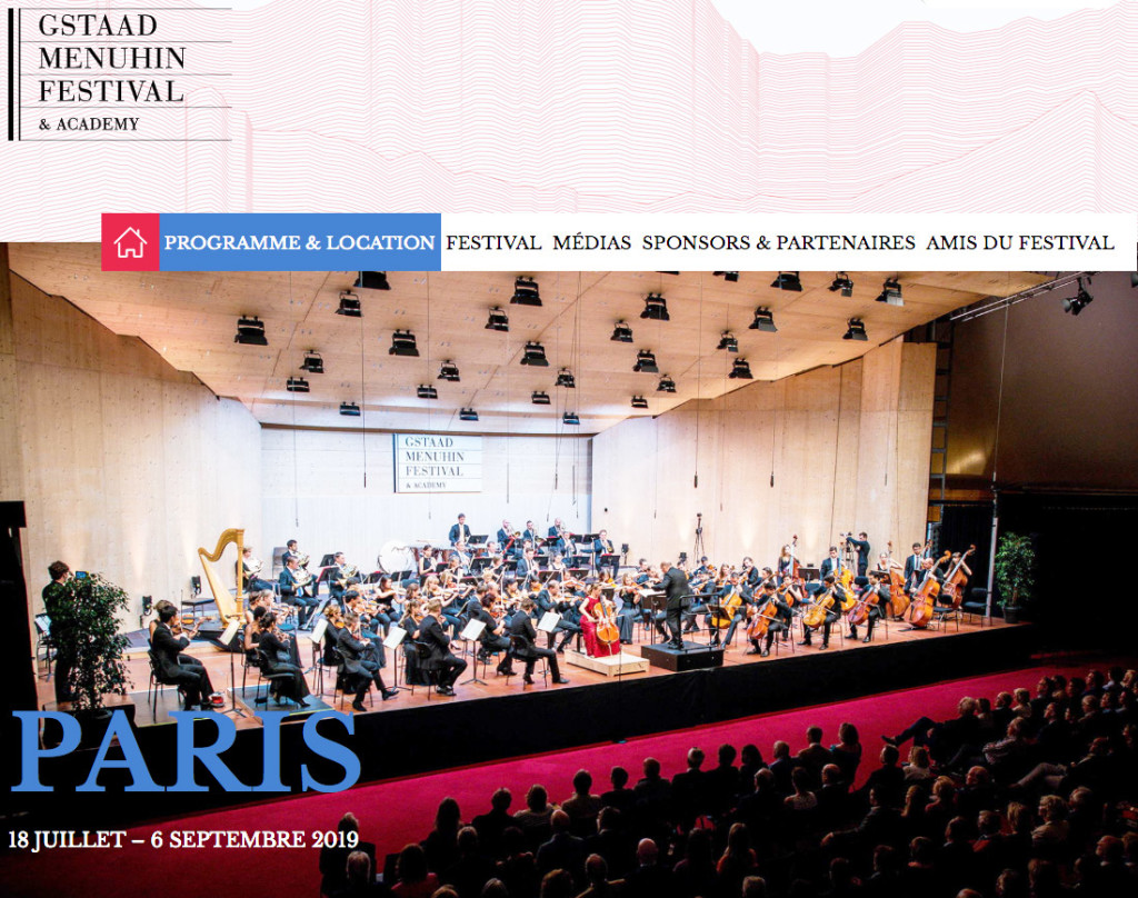 GSTAAD-MENUHIN-FESTIVAL-2019-PARIS-annonce-generale-presentation-critique-concerts-operas-festival-classiquenews-musique-classique-news