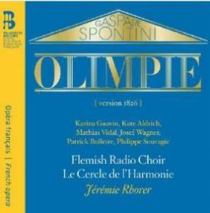 spontini olympie vidal aldrich cd critique classiquenews bru zane bz1035