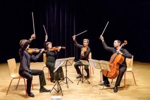 6 - Quatuor Wassily - copyright Claude Vanryssen