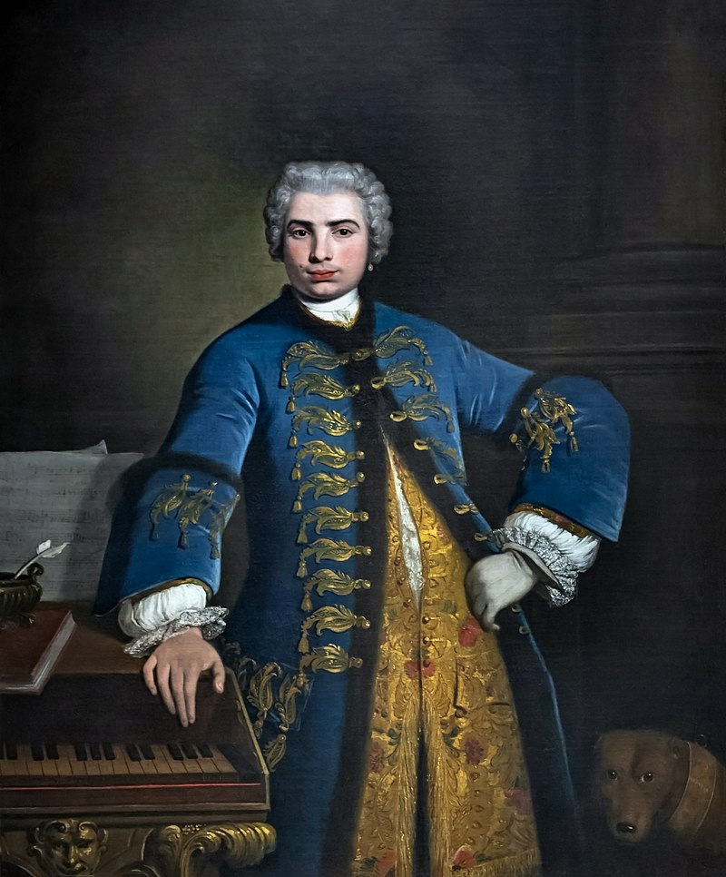 Bartolomeo Nazarie - Portrait of Farinelli 1734 - Royal College of Music London