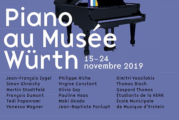 Le Musée WÜRTH fait son festival de piano