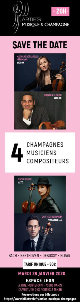 Arties Musique & Champagne - 160x600