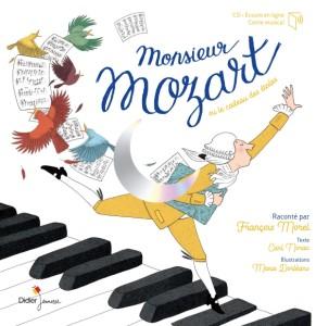 didier jeunesse monsieur mozart norac dorleans critique livre jeunesse classiquenews 9782278089307-001-T