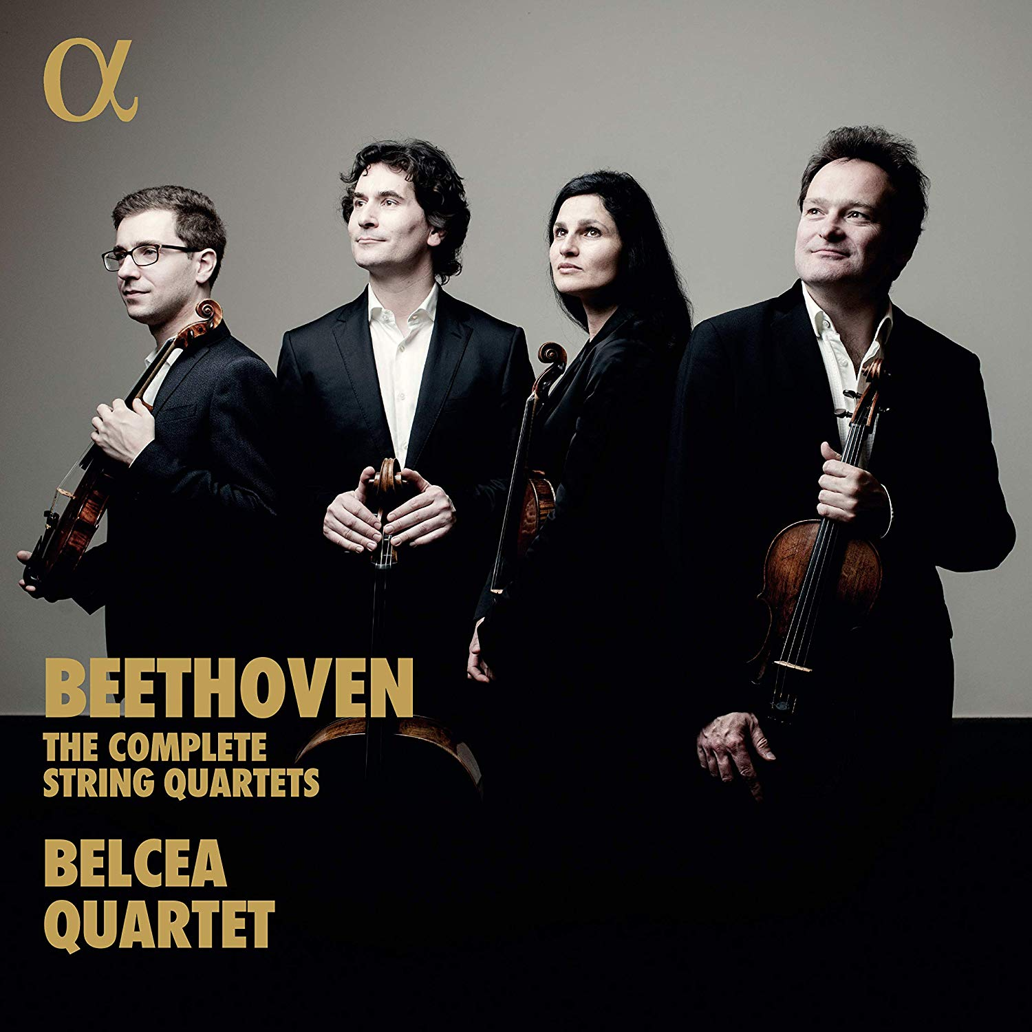 BELCEA strings quartet complete string quartets beethoven cd review critique classiquenews