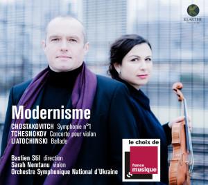 modernisme bastien still nemtanu chostakovitch tchesnokov cd critique classiquenews KLA087couv2_low