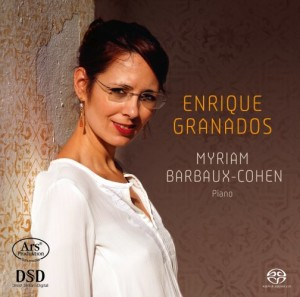 GRANADOS Myriam-Barbaux-Cohen-Enrique-Granados cd review cd critique