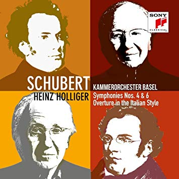 SCHUBERT HOLLIGER 4 et 6 D417 et D589 SONY classical critique cd review classiquenews