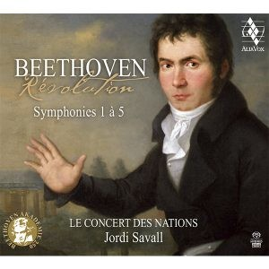 beethoven revolution symphonies 1 5 savall critique cd classiquenews