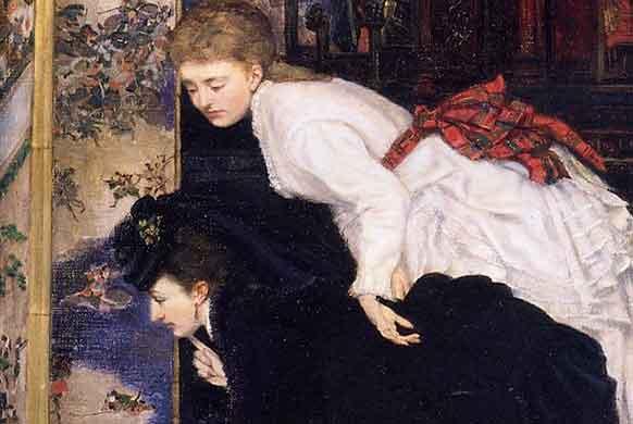 JAMES TISSOT, peintre de la femme