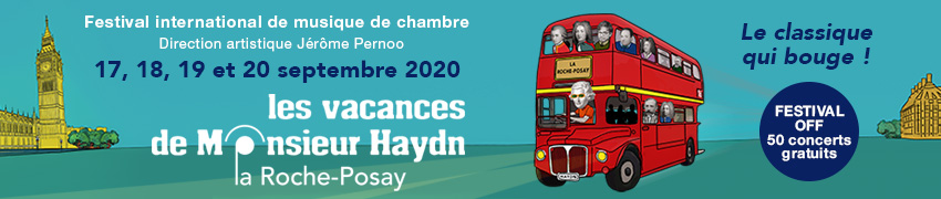 VACANCES MONSIEUR HAYDN 2020 from 13 aout