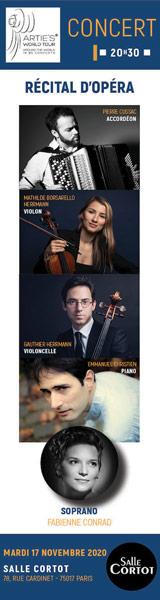 ARTIES recital opera 17 nov20