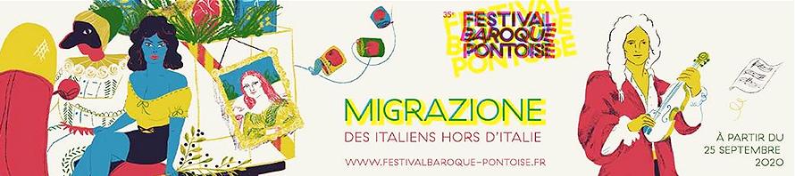 PONTOISE festival baroque 17 oct20