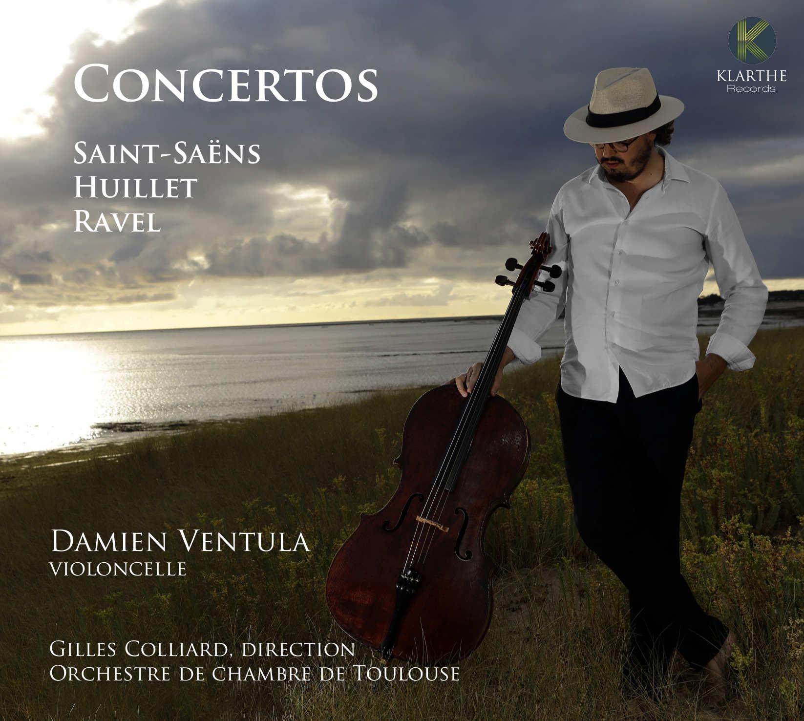 SAINT SAENS opus33 damien Ventula violoncelle klarthe cd critique cd review classiquenews ravel Huillet CLIC de classiquenews