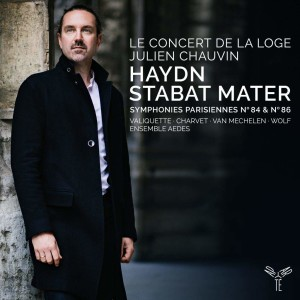haydn concert de la loge stabat mater symph 84 et 86 cd critique classiquenews cd review classiquenews